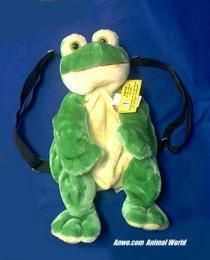 frog backpack child