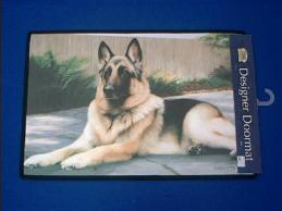 german shepherd doormat welcome mat