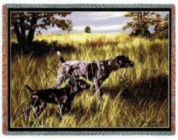 german shorthair pointer blanket tapestry