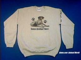 german shorthair pointer sweatshirt