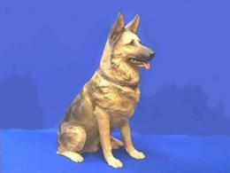 german shepherd figurine lifesize