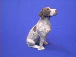 german shorthair figurine sandicast