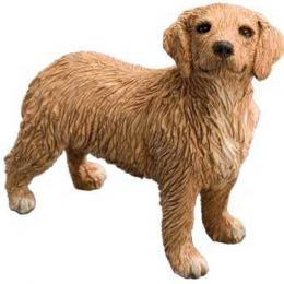 golden retriever figurine sandicast ss12913