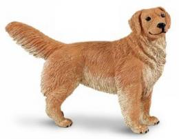 golden retriever toy miniature replica