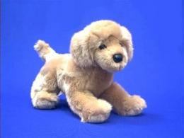 golden retriever plush stuffed animal bella