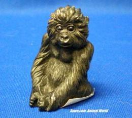 gorilla figurine statue mini