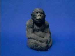 gorilla sandicast figurine
