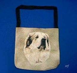 great pyrenees totebag