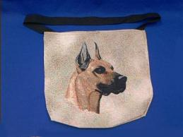 great dane totebag