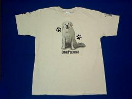great pyrenees t shirt