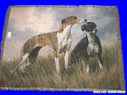 greyhound blanket throw tapestry usa