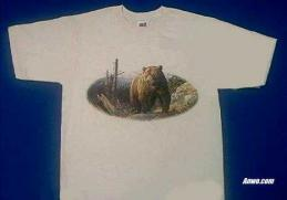 grizzly bear t shirt usa