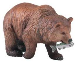 grizzly bear toy miniature