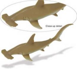 hammerhead shark toy miniature replica