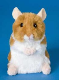 hamster stuffed animal plush brushy
