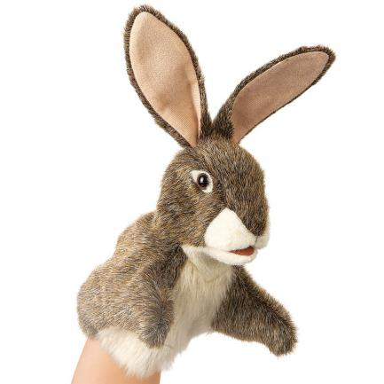 Hare Rabbit Puppet Small