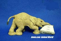 herd elephant figurine chad 2001
