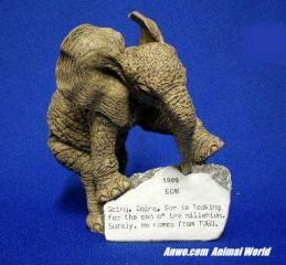 herd elephant figurine gon 1999