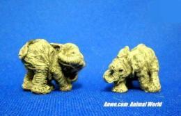 herd elephant figurine scratch sniff