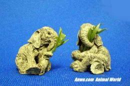 herd elephant figurine snatch stash