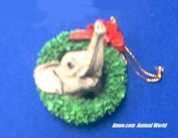 herd elephant ornament figurine 2001