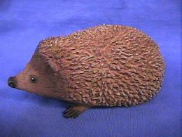 hedgehog figurine statue