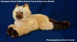 himalayan cat plush stuffed animal toy
