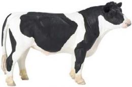 holstein bull cow toy miniature