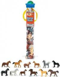 horse toy tube assortment