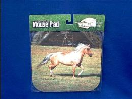 horse mousepad running