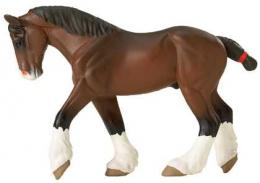 horse toy clydesdale miniature replica