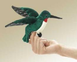 hummingbird finger puppet folkmanis