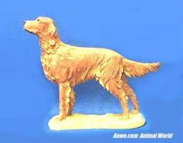 irish setter figurine country artists