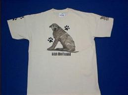 irish wolfhound t shirt