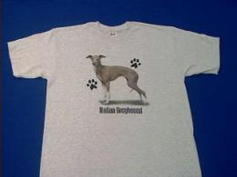 italian greyhound t shirt