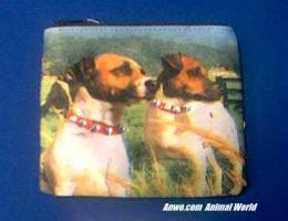 jack russell terrier coin purse