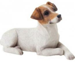 jack russell terrier figurine statue ss20502