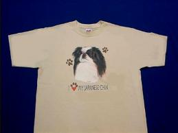 japanese chin t shirt by Animal World