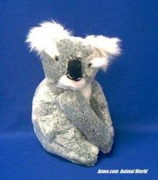 koala plush stuffed animal sitting