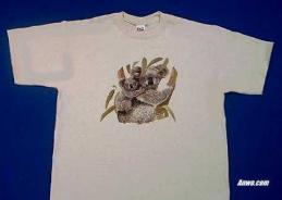 koala t shirt family printed in usa