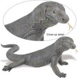 large komodo dragon toy