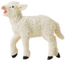 lamb toy miniature replica