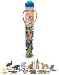 australian animals toy tube assortment