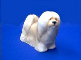 lhasa apso figurine stone critter