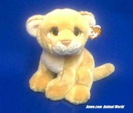 lion cub plush stuffed animal ty savanah