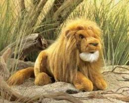 lion puppet large folkmanis