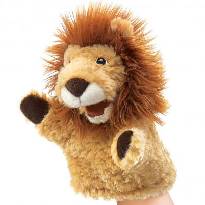 Lion Puppet Small