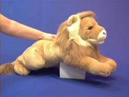 large lion plush stuffed animal leonardo