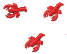 Lobster Toy Mini Good Luck Miniature Anwo