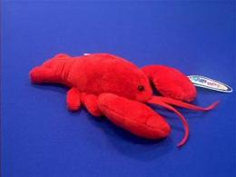 lobster plush stuffed animal small